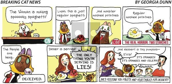 Breaking Cat News - Sunday October 13, 2019 Comic Strip