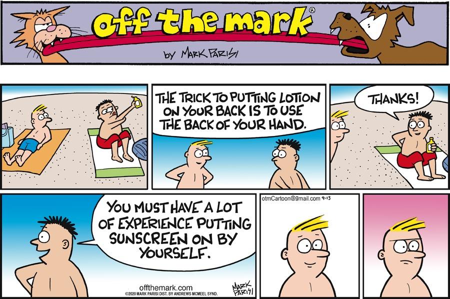 Off the Mark Comic Strip for September 13, 2020