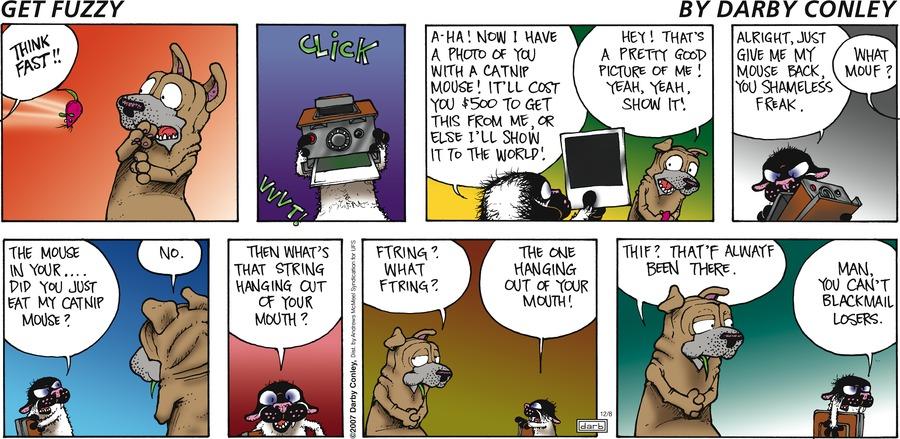 Get Fuzzy Comic Strip for December 08, 2019