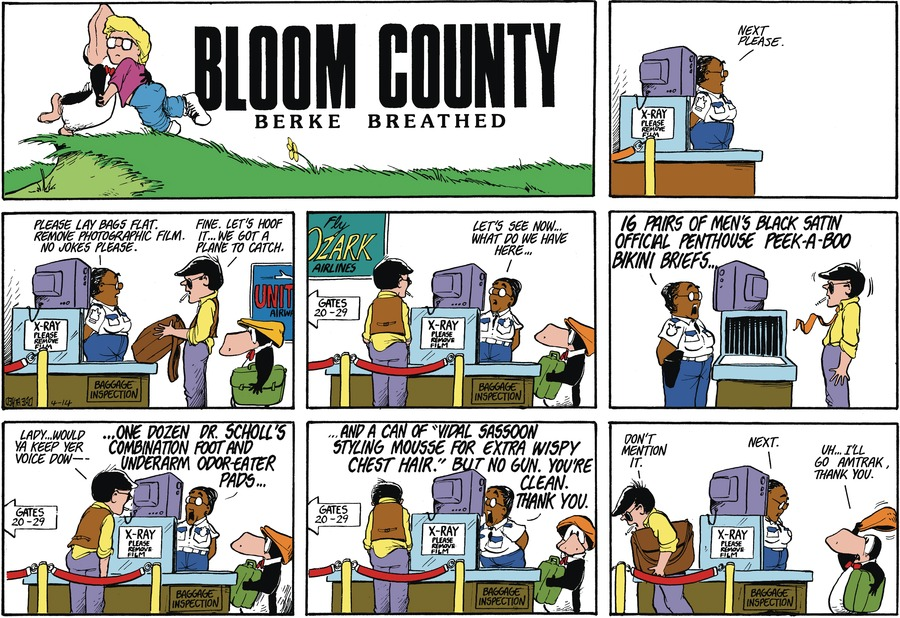 Bloom County Comic Strip for April 01, 2021