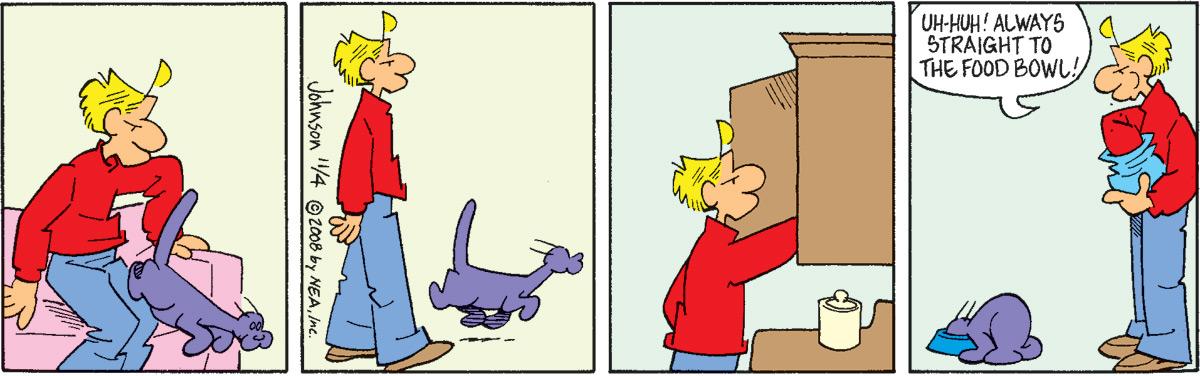 Arlo and Janis for Nov 4, 2008 Comic Strip