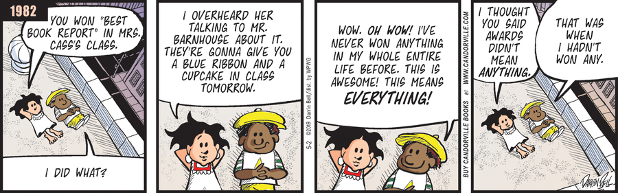 Candorville by Darrin Bell for May 02, 2019