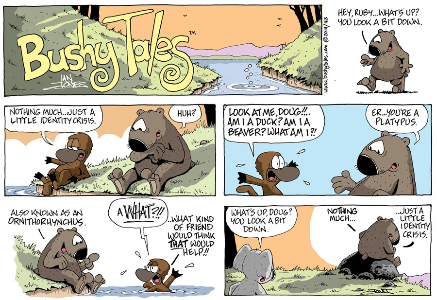 Bushy Tales Comic Strip for July 21, 2019