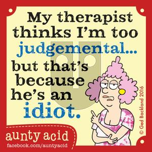 Aunty Acid on Thursday June 23, 2016 Comic Strip