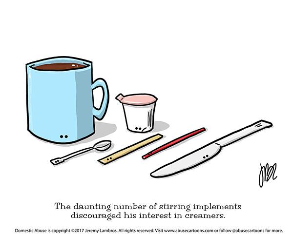 Domestic Abuse Comic Strip for November 09, 2017