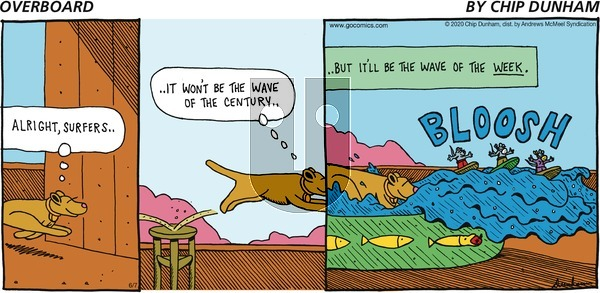 Overboard on Sunday June 7, 2020 Comic Strip