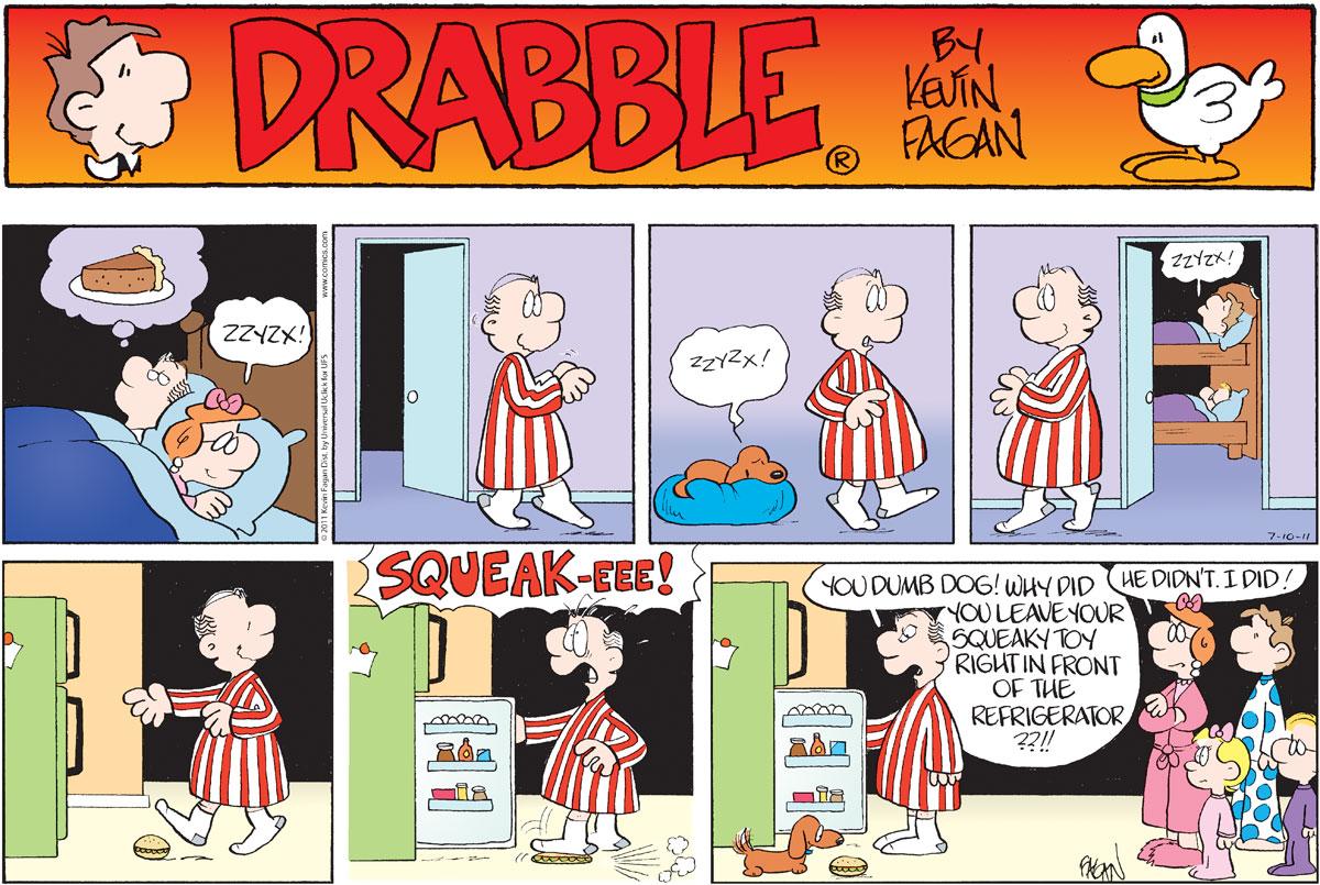 Drabble for Jul 10, 2011 Comic Strip