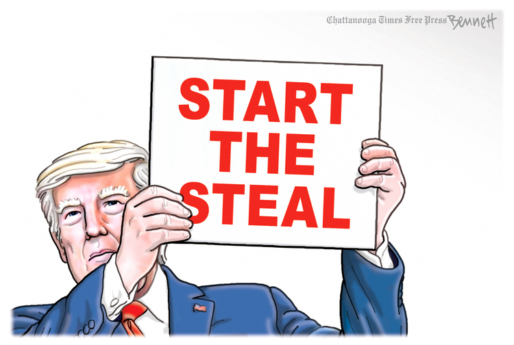 Clay Bennett Comic Strip for July 31, 2021
