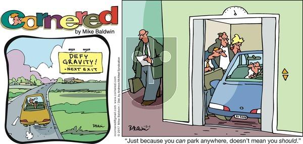 Cornered on Sunday June 4, 2017 Comic Strip