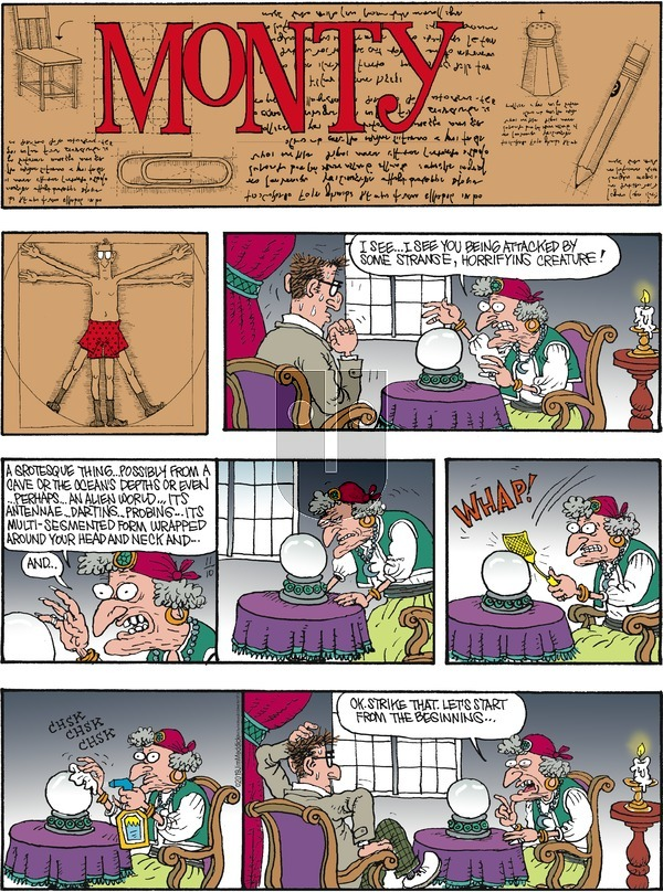 Monty on Sunday November 10, 2019 Comic Strip
