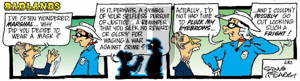 Badlands - Wednesday January 13, 2021 Comic Strip