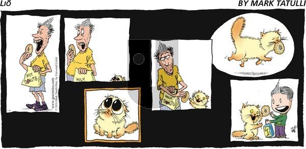 Lio on Sunday January 24, 2016 Comic Strip
