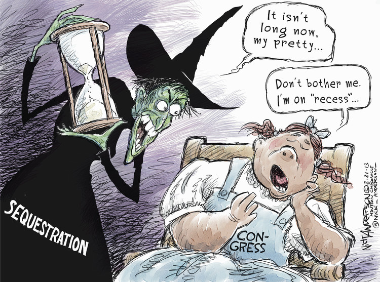 Nick Anderson for Feb 21, 2013 Comic Strip