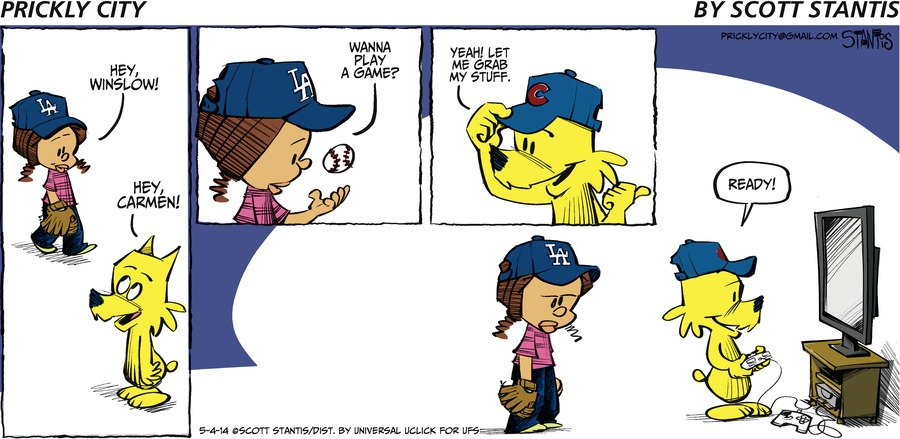 Prickly City for May 4, 2014 Comic Strip