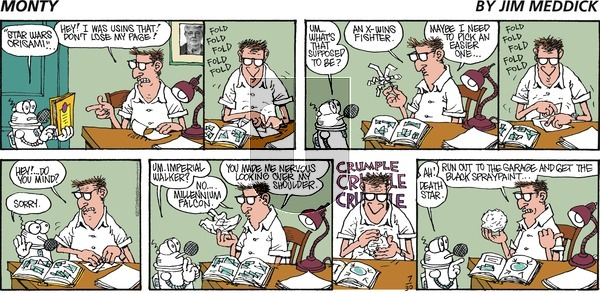 Monty on Sunday July 30, 2017 Comic Strip