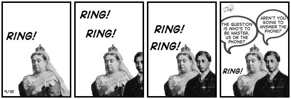 New Adventures of Queen Victoria Comic Strip for December 02, 2019
