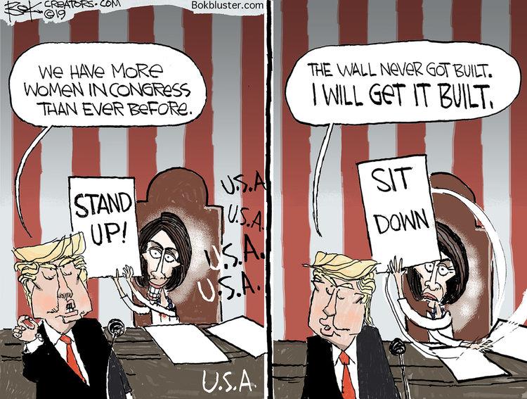 Chip Bok Comic Strip for February 07, 2019