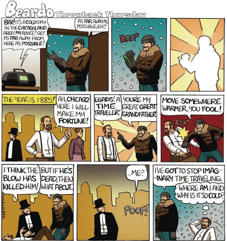 Beardo Comic Strip for January 29, 2015