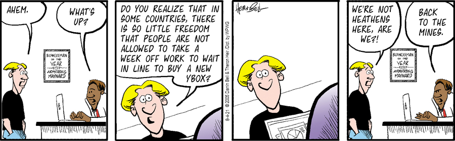 Rudy Park Comic Strip for August 04, 2021