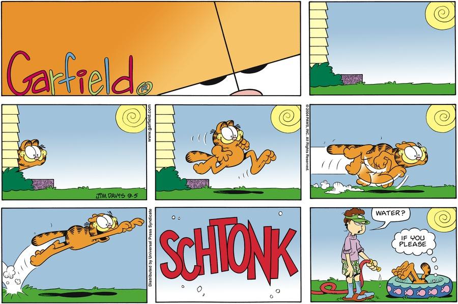Garfield Comic Strip for September 05, 2004