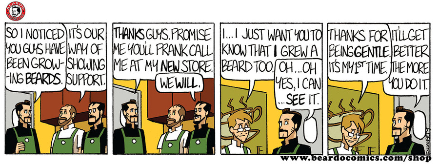 Beardo Comic Strip for April 22, 2019