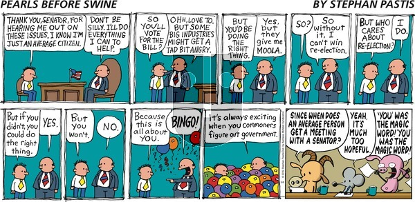 Pearls Before Swine on Sunday September 8, 2019 Comic Strip