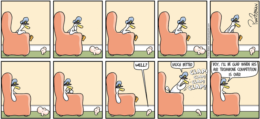 Ollie and Quentin for Jan 20, 2013 Comic Strip