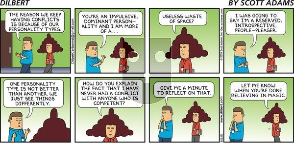 Dilbert on Sunday August 16, 2015 Comic Strip