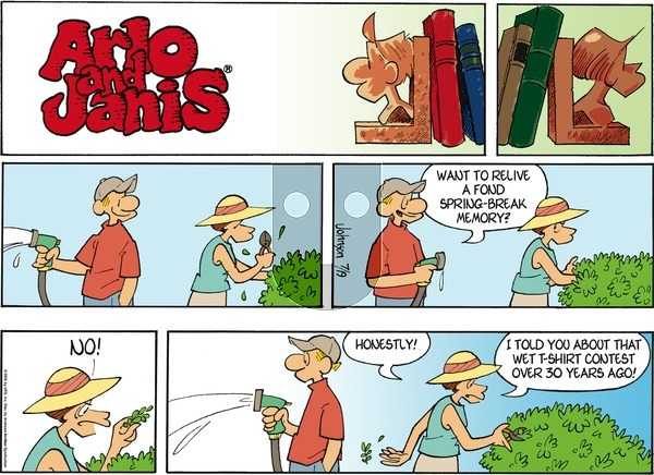 Arlo and Janis on Sunday July 19, 2020 Comic Strip