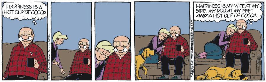 Ben Comic Strip for February 15, 2021