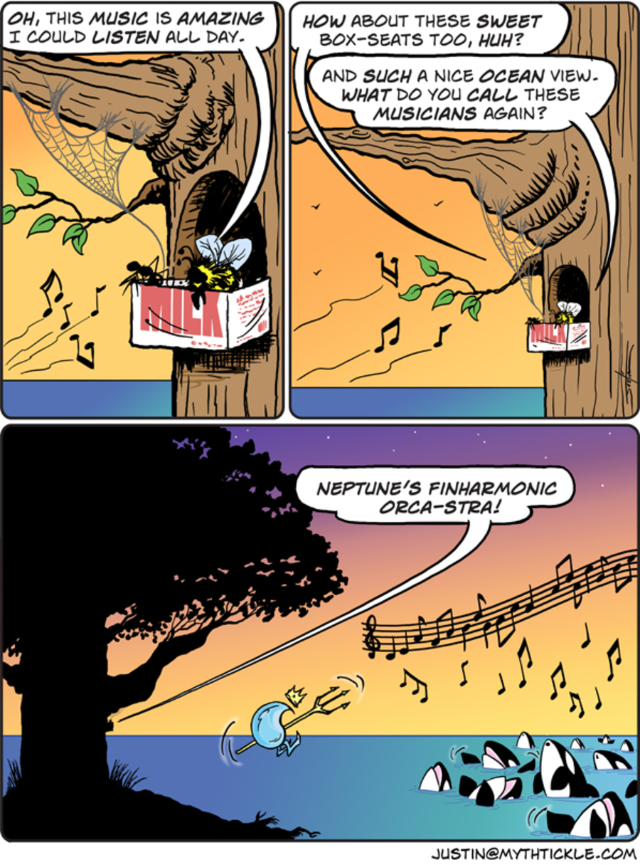 MythTickle for Sep 7, 2012 Comic Strip