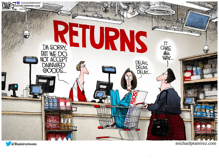 Michael Ramirez Comic Strip for December 27, 2019