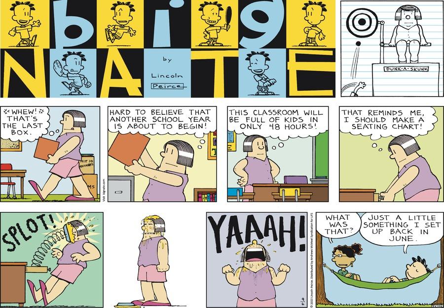 Big Nate Comic Strip for September 06, 2020