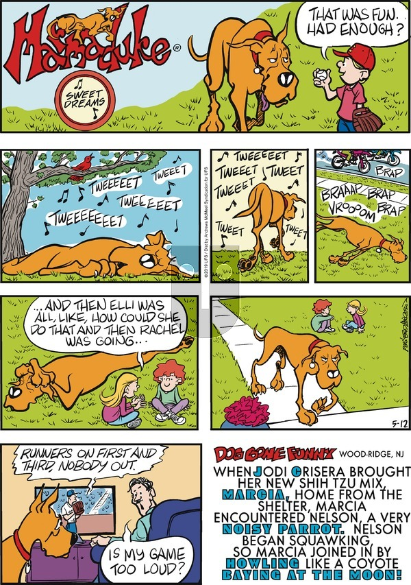 Marmaduke on Sunday May 12, 2019 Comic Strip