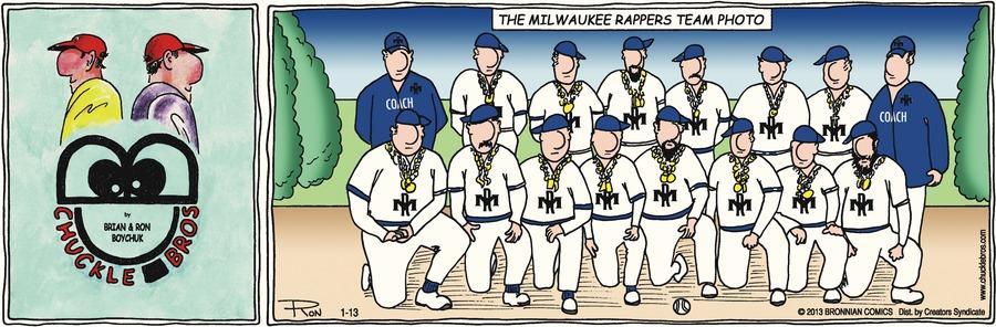 Chuckle Bros Comic Strip for January 13, 2013