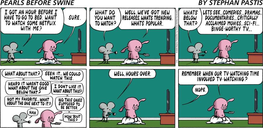 Pearls Before Swine Comic Strip for January 12, 2020