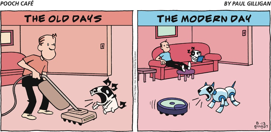 Pooch Cafe Comic Strip for August 13, 2017