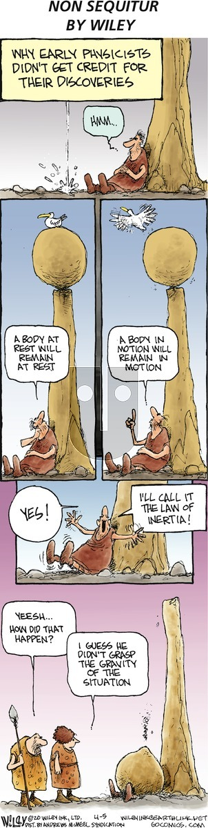 Non Sequitur on Sunday April 5, 2020 Comic Strip