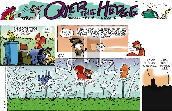 Over the Hedge on Sunday September 2, 2018 Comic Strip