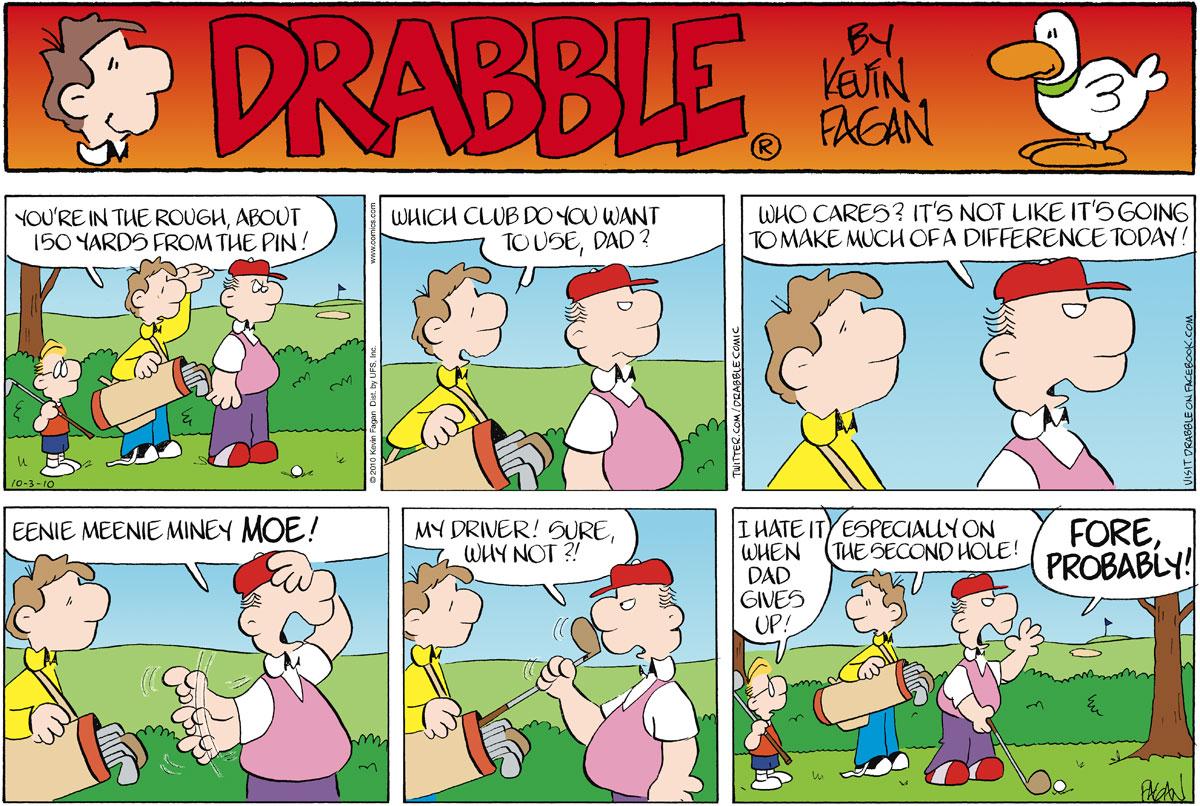 Drabble for Oct 3, 2010 Comic Strip