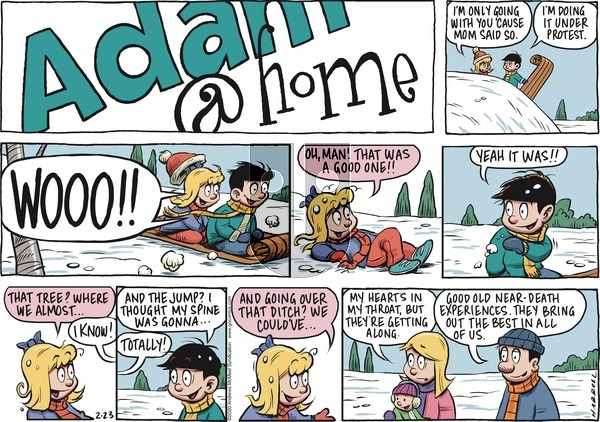Adam@Home on Sunday February 23, 2020 Comic Strip