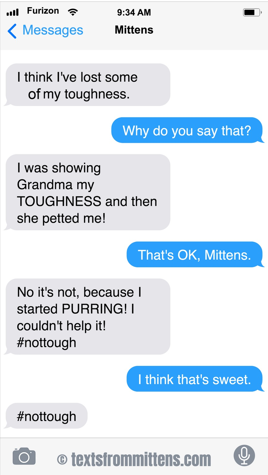 Texts From Mittens Comic Strip for January 24, 2021