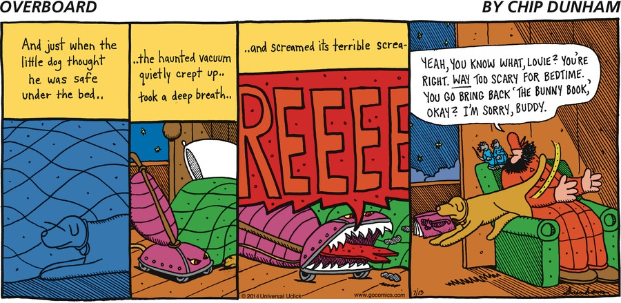 Overboard Comic Strip for July 13, 2014