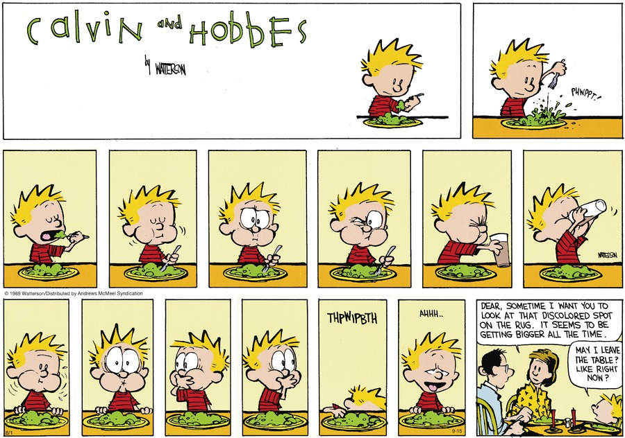 Calvin and Hobbes Comic Strip for September 15, 2019