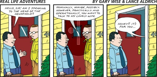 Real Life Adventures on Sunday August 27, 2017 Comic Strip