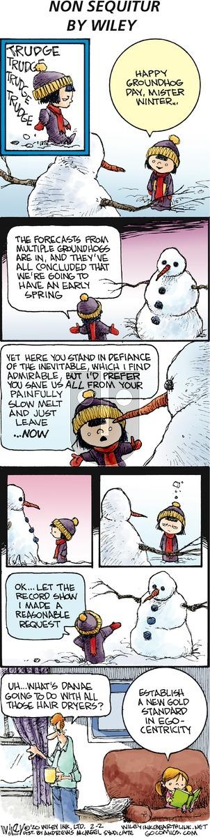 Non Sequitur on Sunday February 2, 2020 Comic Strip