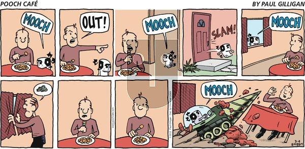 Pooch Cafe - Sunday March 4, 2012 Comic Strip