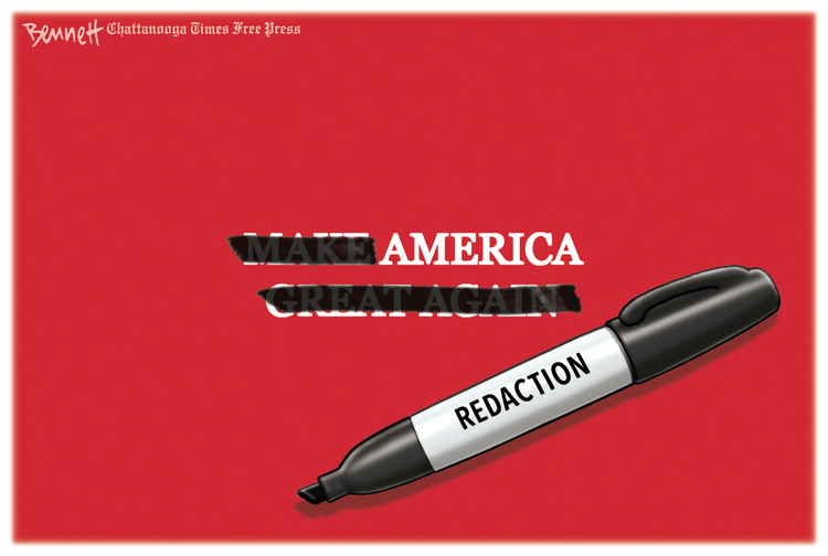 Clay Bennett Comic Strip for April 21, 2019