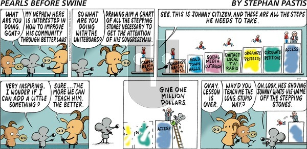 Pearls Before Swine on Sunday February 18, 2018 Comic Strip