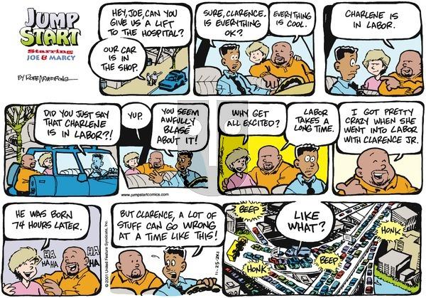 JumpStart on Sunday November 25, 2001 Comic Strip